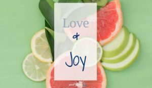 After getting to know the fruit of love, it's time to discover it's good friend, joy.