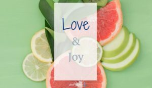 How about a little strength of character training? Let's start with love and joy.